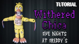 Tutorial Withered/Old Chica en Plastilina / FNaF / How to make a Withered/Old Chica with Clay