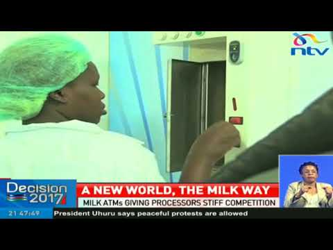 Milk ATMs giving processors stiff competition