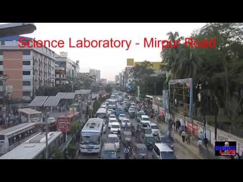 DHAKA TRAFFIC JAM 2016 | Traffic Jam of Dhaka City - Science Laboratory, Bangladesh, Part-7 HD