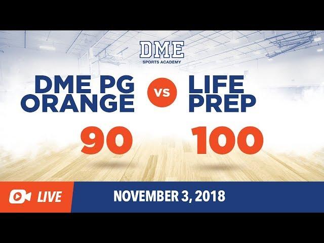 Life Prep vs. DME Orange (SIAA Conference Game)