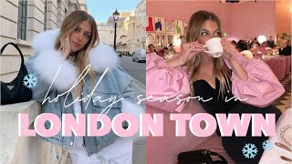 LONDON TRAVEL VLOG | MOST EXPENSIVE TEA TIME, BIGGEST TOPSHOP IN THE WORLD