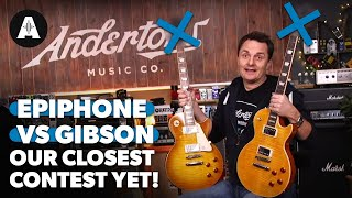 Epiphone vs. Gibson Les Paul Blindfold Challenge - The Closest Contest Yet! MP3