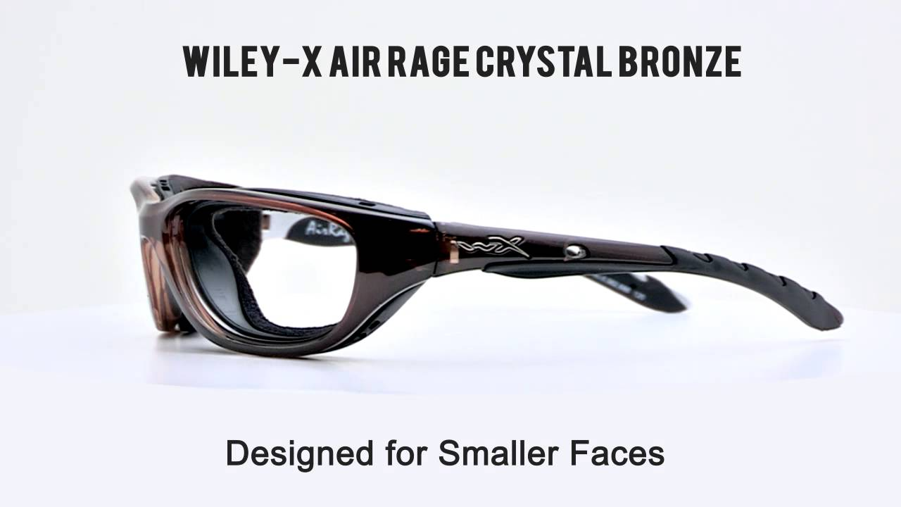 ca6b169457 RX SAFETY Wiley X AirRage Crystal Bronze - YouTube