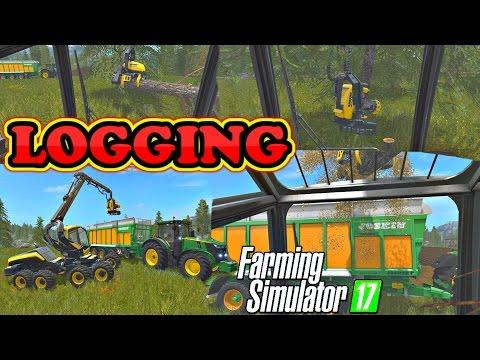 Farming Simulator 2017   Logging On Goldcrest Valley   2k 60FPS 😍 😉