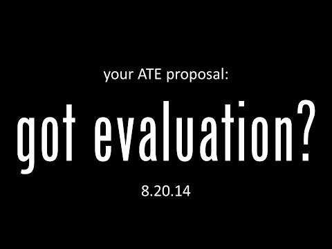 YOUR ATE PROPOSAL: GOT EVALUATION 1