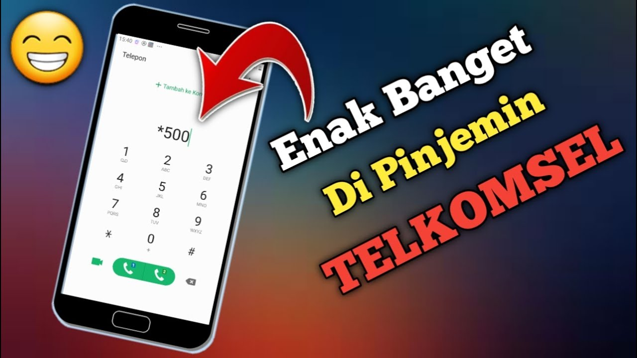 Download 2 Cara Pinjam Pulsa Telkomsel