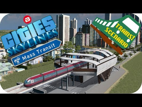 Cities Skylines Gameplay: MONORAIL TO...