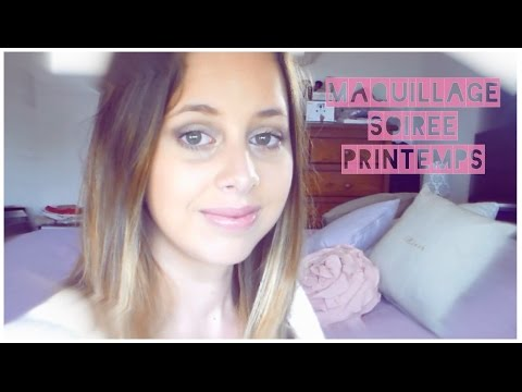Tutoriel Maquillage Soir E De Printemps 3 Youtube