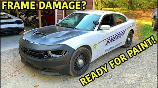 Download Rebuilding A Wrecked 2018 Dodge Charger Police Car Part 3 Mp3 and Videos