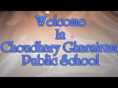 choudhary gharsiram public school laxmangarh