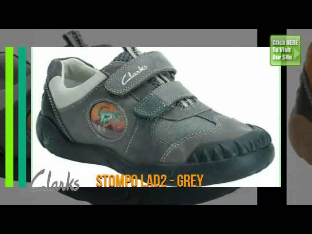 Clarks Kids Boys Shoes - Leather
