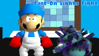 [Splatoon SM64 ROBLOX] Fart-On Lights Fight