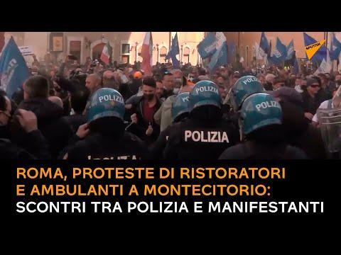 Roma, proteste di