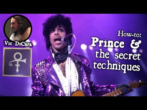 Secret Techniques for The Artist Formerly Known as Prince