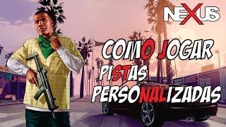 Tutorial como jogar CORRIDAS PERSONALIZADAS no GTA 5 !