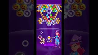 BUBBLE WITCH 3 SAGA LEVEL 2663 ~ NO BOOSTERS, NO HATS