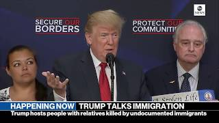 Pres. Donald Trump gives remarks on immigration with 'Angel Families'  | ABC News
