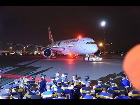 History made as KQ starts direct flights to US