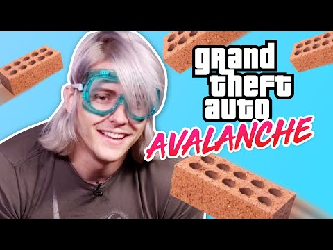 GRAND THEFT AUTO AVALANCHE IN REAL LIFE | GTA Online