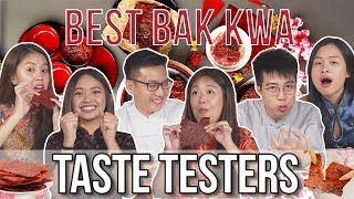 Best Bak Kwa for Chinese New Year   Taste Testers   EP 91