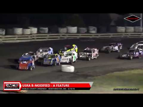 B-Modified/Hobby Stock A Feature - Nobles County Speedway - 8/18/18