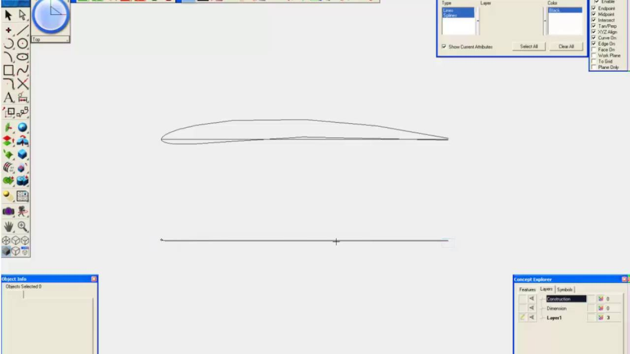 Create Airfoil Tutorial - #1 Geometry Tools - AeroPack - SharkCAD Pro-AP