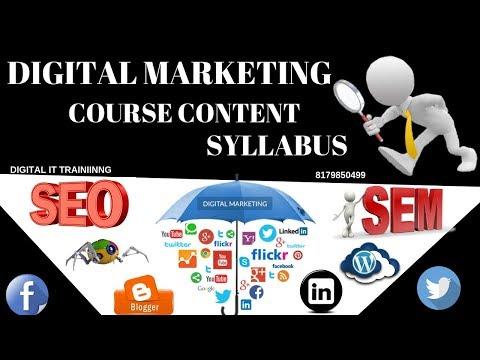 1 What is Digital marketing Course Content Training Syllabus Telugu|Online|Video Tutorials thumbnail