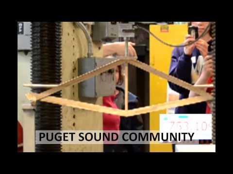 2013 Popsicle Stick Bridge Competition - Breaking the Bridges: Puget Sound Community School