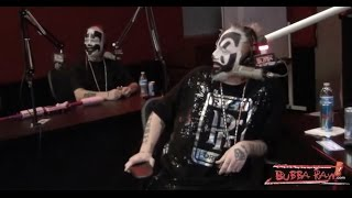 Insane Clown Possee judge the Unsigned Band Review on the Bubba The Love Sponge Show