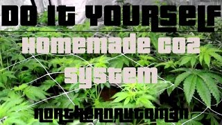 Diy - Homemade Co2 System For Indoor Marijuana Plants  -  Easy