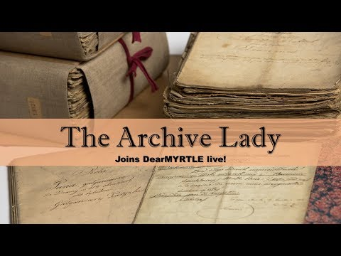 The Archive Lady - Mar 2018 Where are the Records?