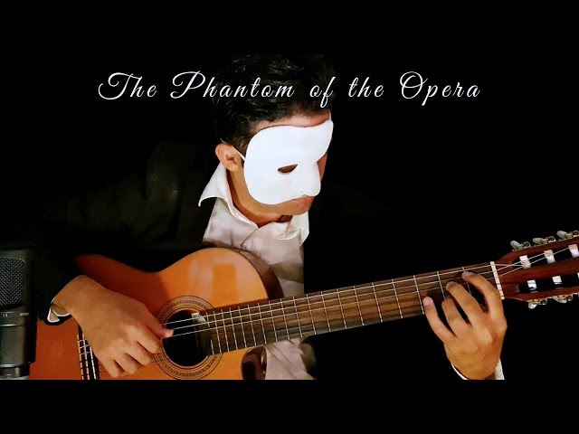 The Phantom Of The Opera on Classical Guitar (Andrew Lloyd Webber) by Luciano Renan