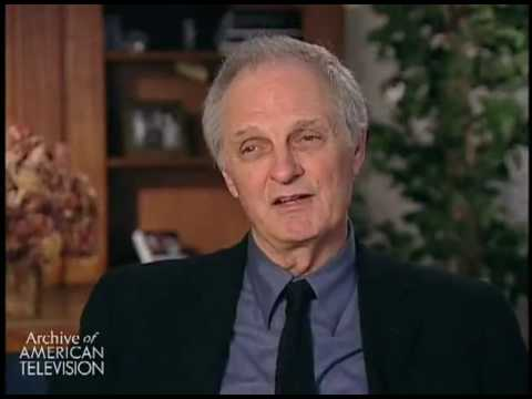 Alan Alda on working with Harry Morgan on M*A*S*H , and Morgan's sense of humor