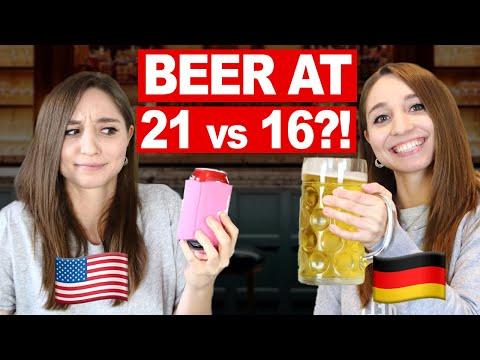 Alcohol Culture GERMANY vs. USA | German Girl in America