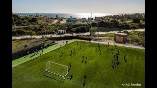 Trainingsbeelden AZ in Estepona