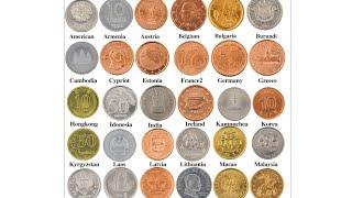 Нумізматика, розпакування китайської посилки, подарунковий набір з 30 розмінних монет різних країн