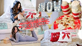 5 Holiday Diy Projects! Decorations, Treats & More