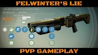 destiny felwinter s lie pvp gameplay iron banner