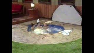 Big Brother Hollanda Duş ve Havuzda Sıcak Sahneler