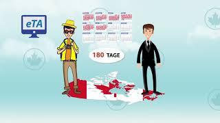 ETA Kanada - Elektronische Reisegenehmigung (eTA) beantragen