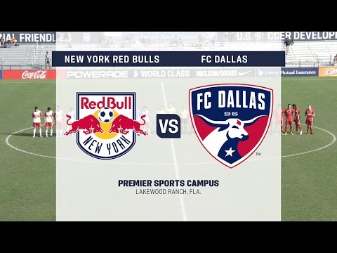 Development Academy case: U1718 New York Red Bulls vs. FCDallas