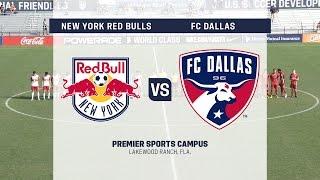Live Video: Development Academy Showcase: U-17/18 New York Red Bulls vs. FCDallas