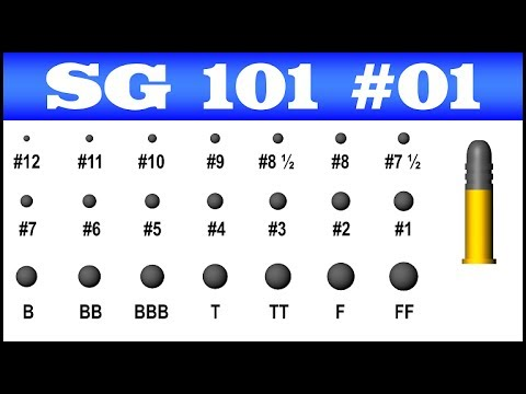 American Shot Sizes Part I Birdshot Shotguns 101 1 Youtube