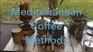 Mediterranean Coffee Methods: Turkish, Italian & French on Coleman Stoves