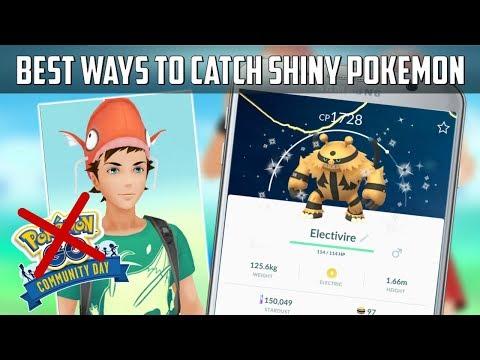 Best Ways To Catch Shiny Pokemon In Pokemon Go! thumbnail