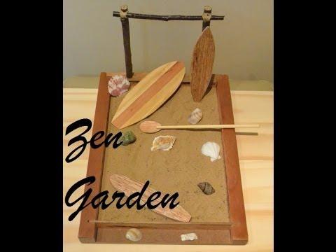 Ufficio Zen Garden : Como construir um jardim zen de mesa surf zen garden youtube