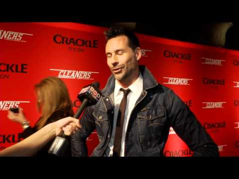 Paul Leyden at Crackles  Cleaners Premiere Screening
