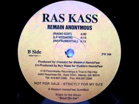 Ras Kass - Remain Anonymous (Instrumental)