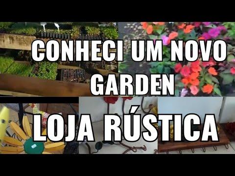 LOJA RÚSTICA DE DECORAÇAO, GARDEN LINDO