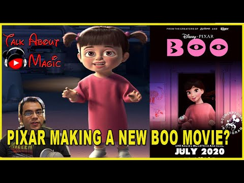 New Disney Pixar Movie Boo Coming In 2020 Monsters Inc Pixar